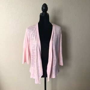 Sweaters - Light and Delicate Pink Cardigan Cover Up